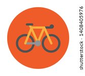 bike icon. outdoor lifestyle... | Shutterstock .eps vector #1408405976