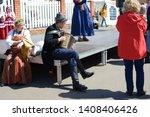 kazan  tatarstan   russia   05... | Shutterstock . vector #1408406426