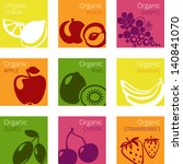 vector illustration of organic... | Shutterstock .eps vector #140841070