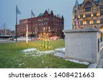Clinton Square at Downtown Syracuse, New York.