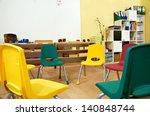 kindergarten preschool... | Shutterstock . vector #140848744