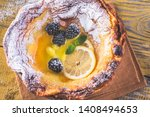 Dutch Baby Pancake Served With...