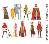 European Medieval Characters...
