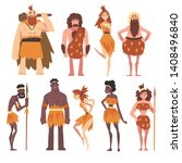 Prehistoric People Set ...