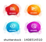 liquid badges. set of... | Shutterstock .eps vector #1408514510