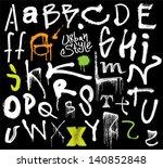 urban style. graffiti style...   Shutterstock .eps vector #140852848
