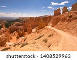 Landscape On The Bryce Canyon...
