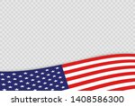 usa independence day 4th of... | Shutterstock .eps vector #1408586300