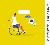 modern health care. new... | Shutterstock .eps vector #1408613606
