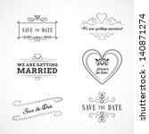 Save The Date Wedding Graphic...