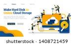 make harddisk as online cloud...