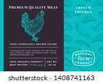 premium quality meat abstract...   Shutterstock .eps vector #1408741163