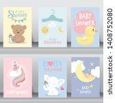 happy birthday  holiday  baby... | Shutterstock .eps vector #1408752080