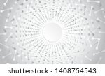 abstract radial background with ... | Shutterstock .eps vector #1408754543