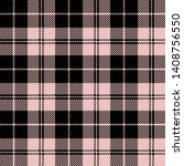 black and pink pastel tartan... | Shutterstock .eps vector #1408756550