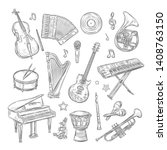 Musical Instruments Doodles....