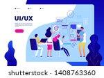 ui ux landing page. best user...