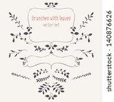 set of design elements....   Shutterstock .eps vector #140876626