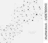 connection science molecule...   Shutterstock .eps vector #1408780043