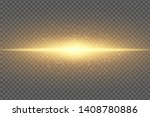 magic stylish light effect on a ... | Shutterstock .eps vector #1408780886