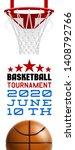 basketball modern sports poster ... | Shutterstock .eps vector #1408792766