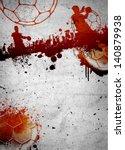abstract grunge handball poster ... | Shutterstock . vector #140879938