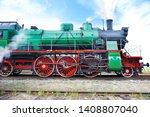 Old Soviet Passenger Locomotiv...