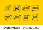innovative music quotation... | Shutterstock .eps vector #1408828553