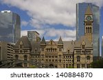 Stock photo old toronto city hall 140884870