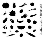 set of vector illustration... | Shutterstock .eps vector #140888500