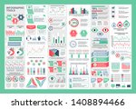 infographic teamwork vector... | Shutterstock .eps vector #1408894466