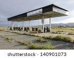 Abandoned Gas Station In Utah