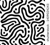 vector seamless maze pattern....   Shutterstock .eps vector #1409024243