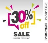 30 Percent Off Sale Modern Pink ...