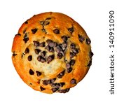 chocolate chip muffin from top... | Shutterstock . vector #140911090