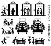 business proposal idea... | Shutterstock .eps vector #140911336