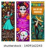 dia de los muertos or day of... | Shutterstock .eps vector #1409162243