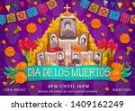 Dia De Los Muertos Or Day Of...