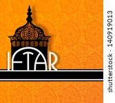 concept for muslim community...   Shutterstock .eps vector #140919013