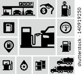 Fuel Pump  Gas Station Icons