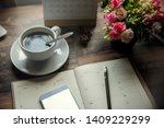 Diary And Smartphone For...