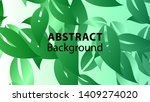 leaf background colorful... | Shutterstock .eps vector #1409274020