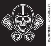 Skull Racer With Cross Pistons...