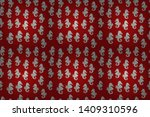 Raster. Seamless Pattern With...