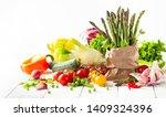 various types of fresh... | Shutterstock . vector #1409324396