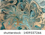 pale marbling pattern. simple... | Shutterstock . vector #1409337266