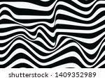 abstract wavy lines. vector... | Shutterstock .eps vector #1409352989