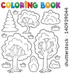 Coloring Book Tree Theme 1  ...