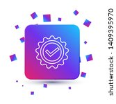 trendy square with particles...   Shutterstock .eps vector #1409395970