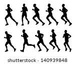 10 high quality marathon... | Shutterstock .eps vector #140939848